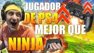 Un jugador de PS4 mejor que NINJA y TFUE !? FORTNITE Battle Royale
