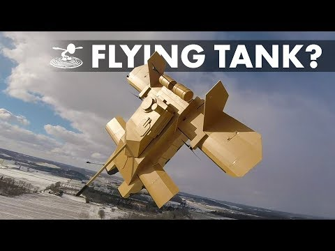 making-a-giant-tank-fly