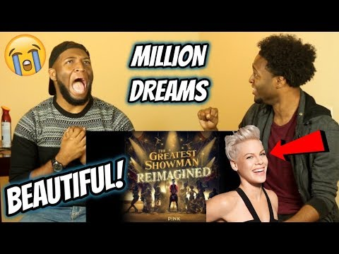 P!nk - A Million Dreams (from The Greatest Showman: Reimagined) REACTION!