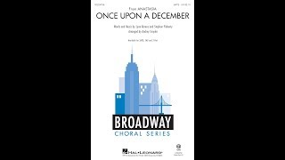 Once Upon a December (SATB) - Arranged by Audrey Snyder