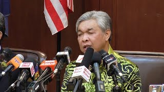 Zahid: Barisan will boycott PD by-election to protest manner it was created | Kholo.pk