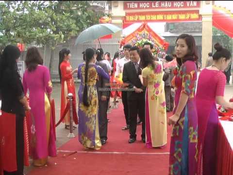 lễ kỉ niệm 31 năm ngày NGVN và 15 năm ngày truyền thống trường THPT Lê Quý Đôn tỉnh Hà Tĩnh