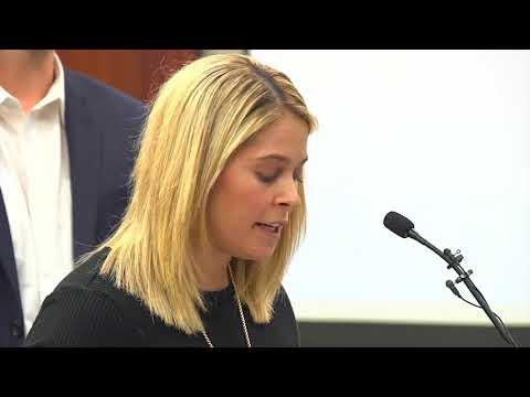 Chelsea Williams addresses skeptics during Larry Nassar sentencing
