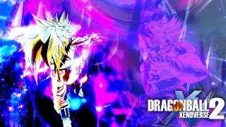 Dragon Ball Xenoverse 2 : BROLY MADE MY GAME FREEZE ¯\_(ツ)_/¯  Raid Quest #7 【60FPS 1080P】