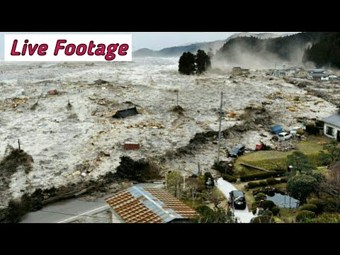Indonesia Tsunami 2018 Live Footage