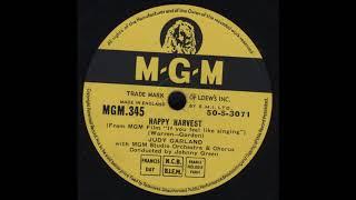 Judy Garland - happy harvest