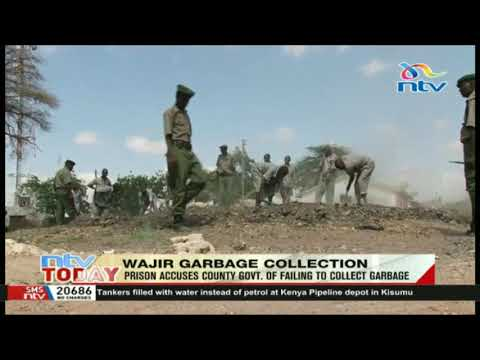 Wajir County government accused of failing to collect garbage.