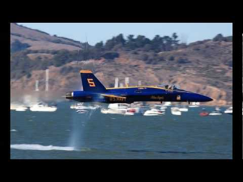 Capturing Sonic Booms Created by Fighter Jets