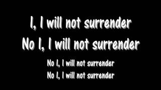 Gambar cover Lyrics : Angels And Airwaves - Surrender