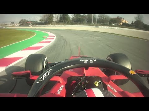 Charles Leclerc Goes Fastest for Ferrari on Day 2 | F1 Testing 2019
