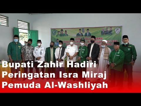 Bupati Zahir Hadiri Peringatan Isra Miraj Pemuda Al-Washliyah