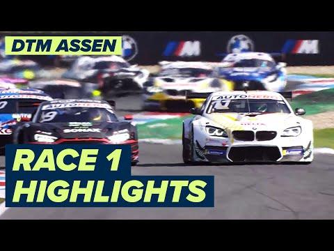 DTM TTサーキット・アッセン(オランダ) レース1のハイライト動画