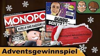 Dummschwätzer, Monopoly - Brettspiel Adventskalender 2018 - Tür 19