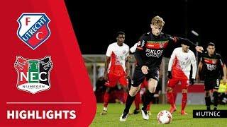 Samenvatting Jong FC Utrecht - N.E.C. (09-03-2020)