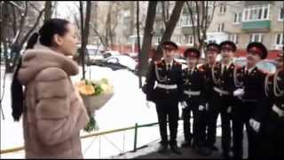 голос Полина Конкина и суворовцы МВМУ .
