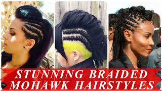 Braided Mohawk Hairstyles For African Americans