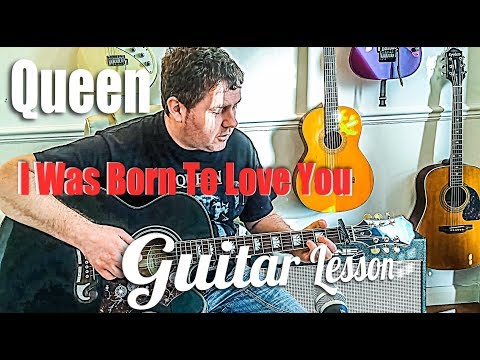 Download I M Going Slightly Mad Queen Acoustic Guitar Lesson By