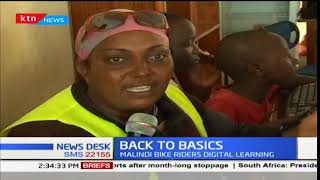 Bodaboda operators initiate a digital literacy program on road safety rules
