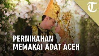 Pernikahan Cut Meyriska dan Roger Memakai Adat Aceh