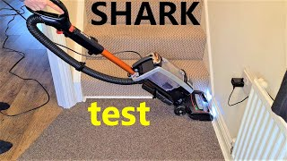 Shark vacuum cleaner test and review