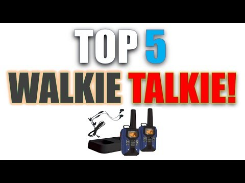 Best Walkie Talkie | Best Two-Way Radios Reviews