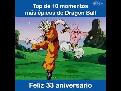 Dragon Ball cumple 33 años, momentos epicos de la serie.