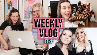 HUGE PRIMARK HAUL & FILMING A MUKBANG WITH HANNAH | Weekly Vlog #35