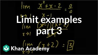 Limit Examples (part3)