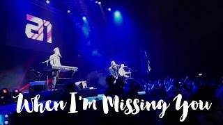 A1 Here We Come (Back!) Tour in Manila 2016 - When I'm Missing You