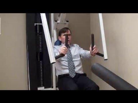 Bewegungstherapie in Osteochondrose der Halswirbelsäule Übungen