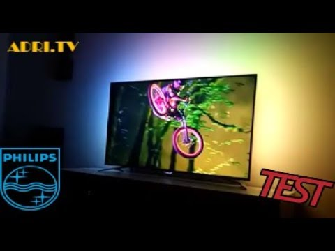 Test TV Philips ambilight 55PUS7272/12 4k UHD