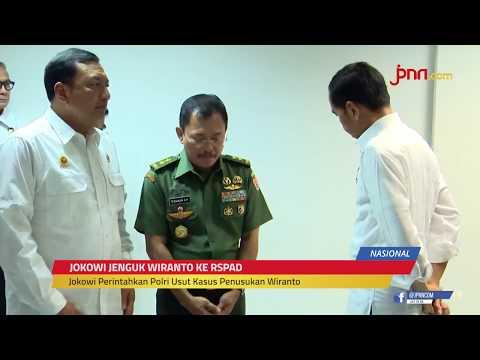Cerita Jokowi Usai Terima Kabar Penusukan Wiranto