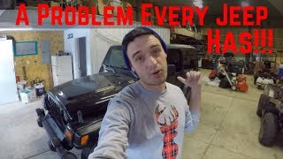 Replace Jeep Wrangler TJ Rear Window Struts. How To Remove and Install