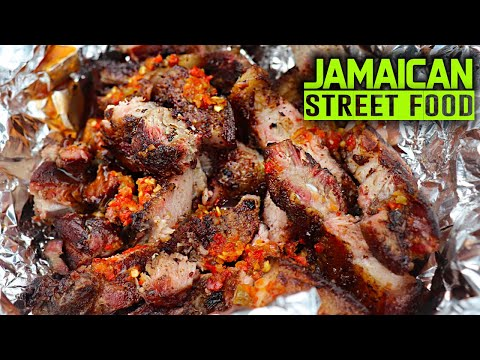 JAMAICAN STREET FOOD! Traveling Jamaica for street food (WEST)