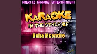 It's Not Over (In the Style of Reba Mcentire) (Karaoke Version)