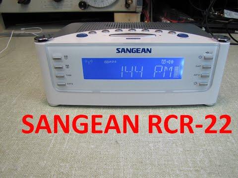 Sangean Atomic Clock Radio - Model RCR-22 Long Term Review