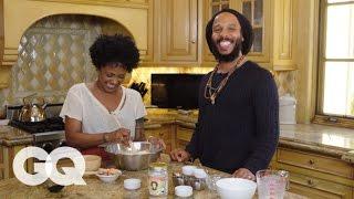Ziggy Marley Cooks You Breakfast: Pancakes   GQ