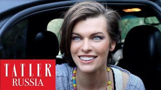 Мила Йовович , Милла Йовович на съемках для Tatler Россия