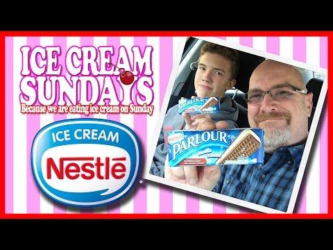Nestle Parlour, Vanilla, Frozen Dessert Sandwich Review