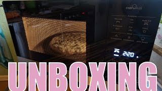 Mikrowelle mit Crisp Funktion Bauknecht 45 SL Chef Plus Unboxing Nickisbeautyworld