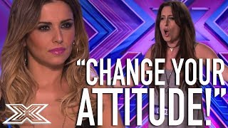 Cheryl Clashes With Contestant | X Factor Global - Video Youtube