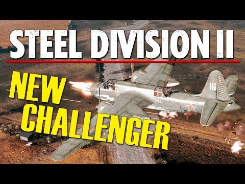 NEW CHALLENGER! Steel Division 2 BETA Conquest Gameplay (Orsha, 1v1)
