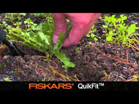 Nezāļu rāvējs Fiskars Quikfit 137522 cena un informācija | Dārza instrumenti | 220.lv