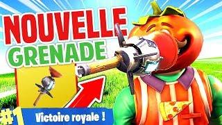 🔥 LA NOUVELLE GRENADE COLLANTE EST CHEAT ?!! ► Fortnite Battle Royale