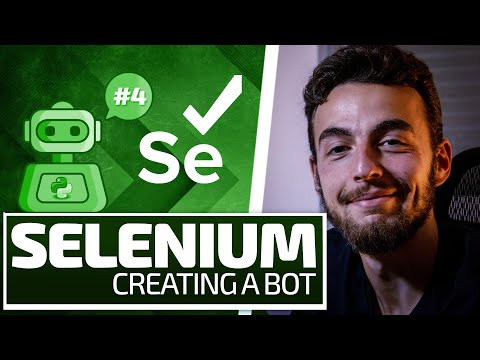 Python Selenium Full Series - Structure a Bot Project [Web Bots and Testing]