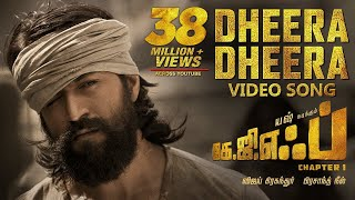 Dheera Dheera Full Video Song | KGF Tamil Movie | Yash | Prashanth Neel | Hombale Films |Ravi Basrur