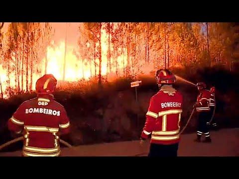Αντιμέτωπη ξανά με τον πύρινο εφιάλτη η Πορτογαλία