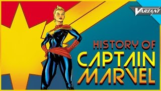 History Of Captain Marvel! (Carol Danvers)