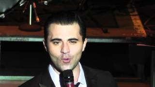 Darius Campbell singing  They Can't Take That Away From Me