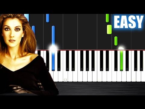 Celine Dion - My Heart Will Go On - EASY Piano Tutorial by PlutaX